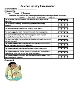 Science Inquiry Assessment