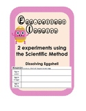 Science Inquiry Experiment-Dissolving Eggshell, Egg Membra