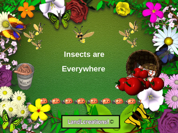 Power Point: Science; Insects are Everywhere
