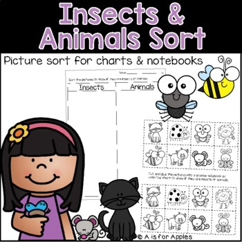 Science Insect and Animal Sort