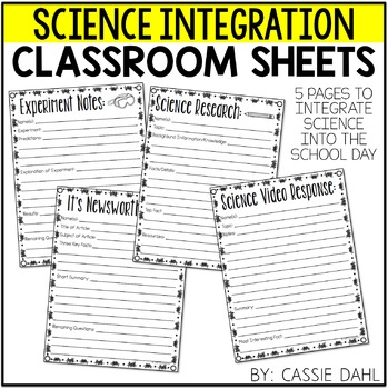 Science Integration Pack