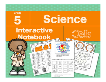 Science Interactive Notebook: Cells
