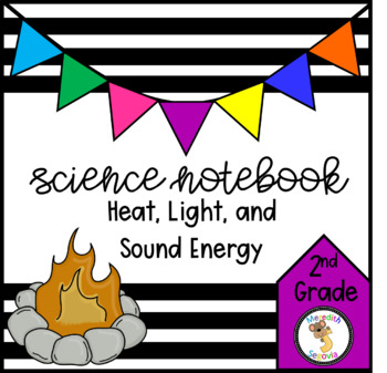 Science Interactive Notebook- Effects of Heat, Light, and