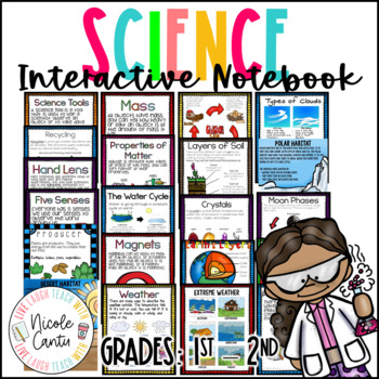Science Interactive Notebook K-2nd: FULL YEAR OF UNITS