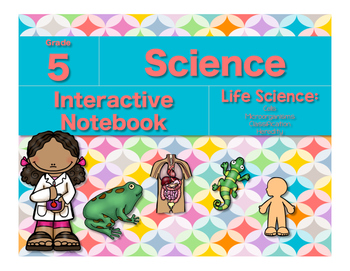 Science Interactive Notebook-Life Science Bundle