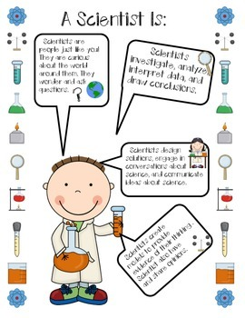 Science Introduction Questions and Scientist Anchor Chart