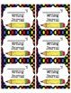Journal Labels (Science, Writing, Math, Spelling, Reading,