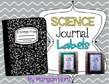 Science Journal Labels FREEBIE
