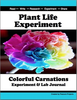Plant Life Experiment - Colorful Carnations Using Scientif