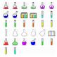 Science Lab - Fun Clipart. Funny Faces, Colors, Transparen