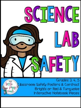 Science Lab Safety Posters & Scientific Method (Gr 3-5)
