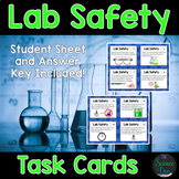 Science Lab Safety Task Cards