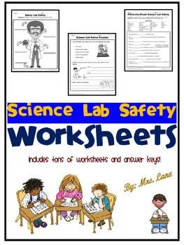 Science Lab Safety Worksheets