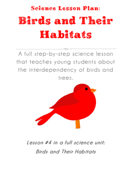 Science Lesson Plan - Mutual Dependency of Birds and Trees