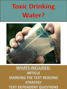 Science Literacy:  Toxic Drinking Water?