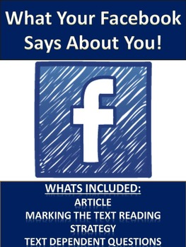 Science Literacy: What your Facebook says about your personality