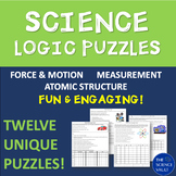 Science Logic Puzzles - Motion, Speed, Volume, Density, Wo