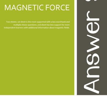 Science - Magnets and Forces - interactive poster