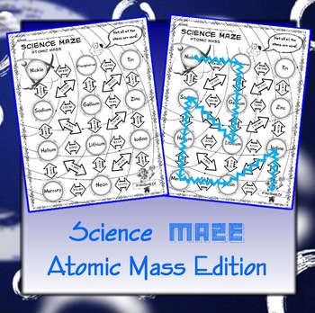 Science Maze Atomic Mass