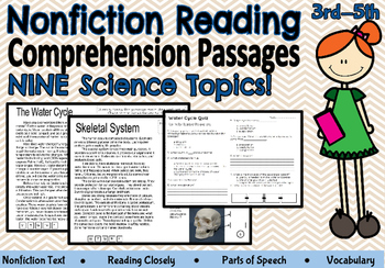 Science Nonfiction Reading Closely