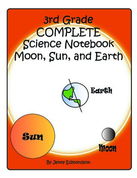 Science Notebook 3rd Grade: Earth, Moon, and Sun