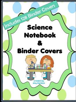 Science Skills Notebook Organization Set- 135 Binder Cover