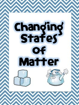 {Science Notebook} - Changing States of Matter