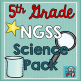 Science Notebook Printables and Activities Superpack- Fifth Grade