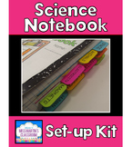 Science Notebook Set-up Kit