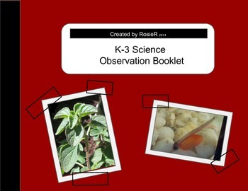 Science Observation Booklet