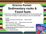 Science Packet: Sedimentary rocks and Fossil fuels