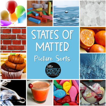 States of Matter: Science Picture Sorts