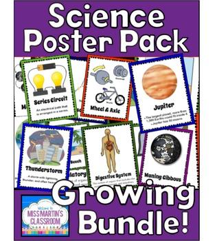 Science Poster Pack Growing Bundle