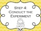 Science Posters {Science Process, Scientific Method, and R