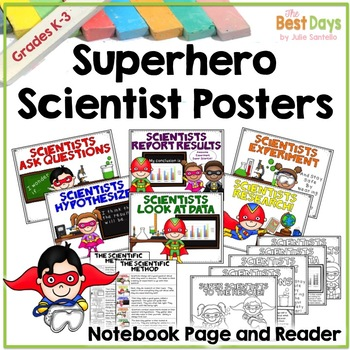 Science Posters:  Super Hero Scientists