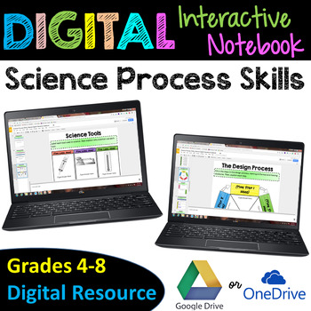 Science Process Skills Digital Interactive Notebook - Goog