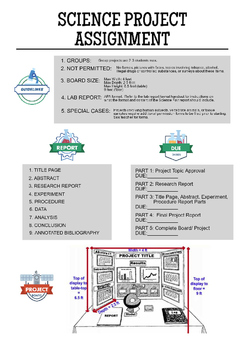 Science Project Guidelines
