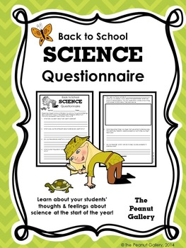 Science Questionnaire (Back to School)