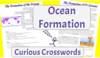 Science Reading Activity- Ocean Formation