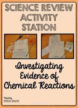 Science Review Activity: Investigating Evidence of Chemica