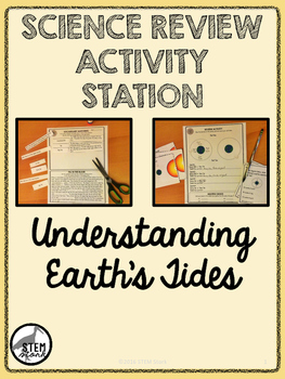 Science Review Activity Station: Understanding Earth's Tid