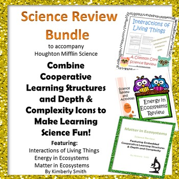 Science Review Cooperative Learning Bundle