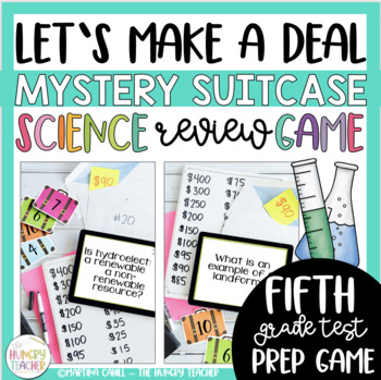 Science Review Game Show Deal or No Deal {5th and 6th Grad
