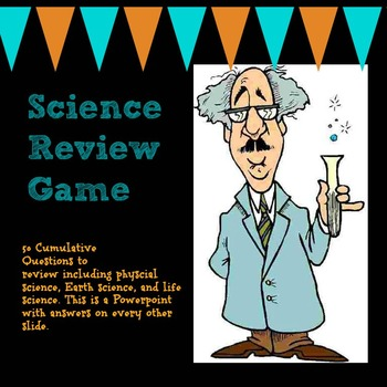 Science Review Game with Multiple Choice Questions