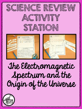 Science Review Station: The Electromagnetic Spectrum 8.8.C