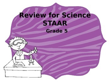 Science STAAR Review- Grade 5 Odd One Out Game