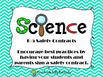 Science Safety Contracts K-5