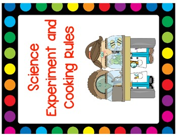 Science Safety Posters and Book