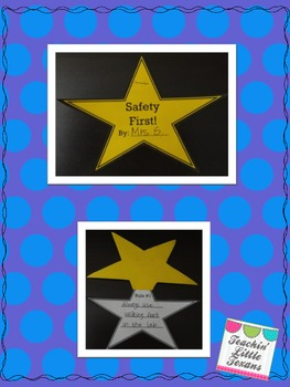 Science Safety Rules Booklet