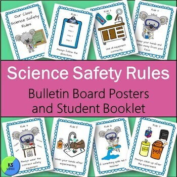 Science Safety Rules in the Elementary Classroom:  Booklet